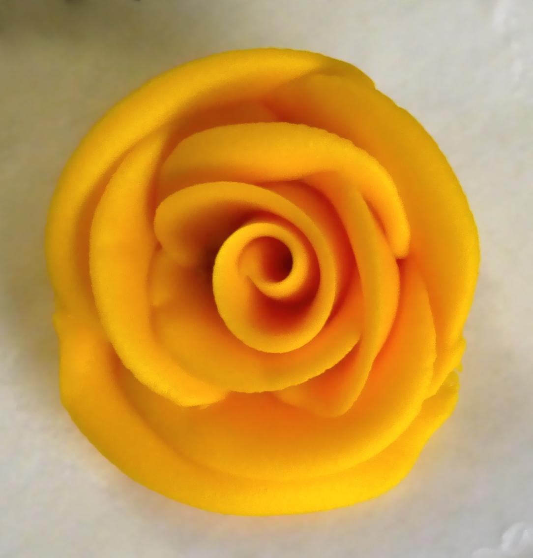 Sunset Yellow Gel Paste